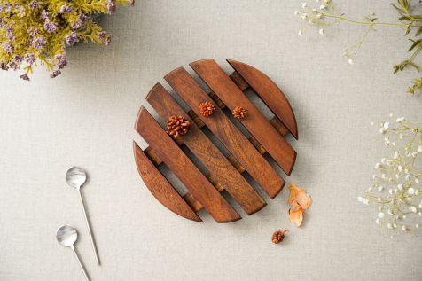Circular Log Trivet