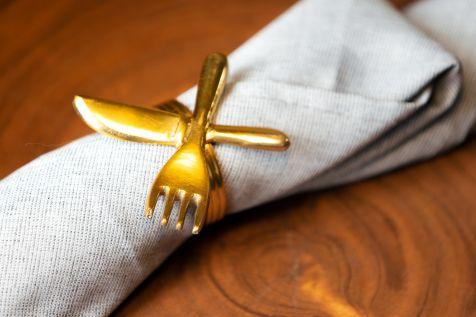 Fork Knife Napkin Holder